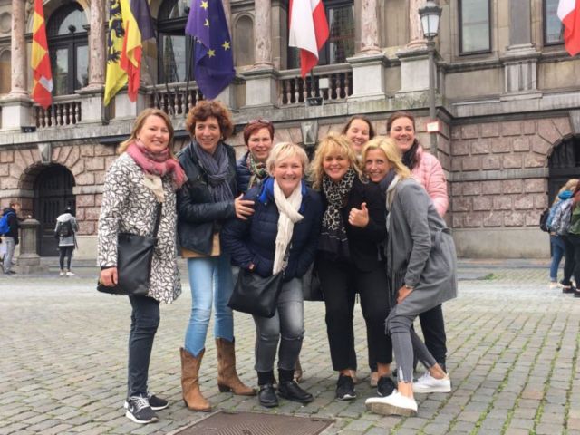 City Tour with group of enthusiastic Dutch ladies